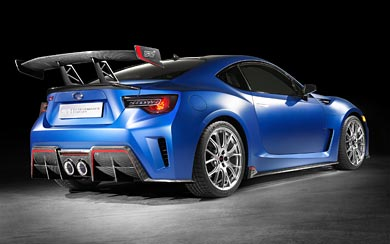 2015 Subaru BRZ STI Performance Concept wallpaper thumbnail.