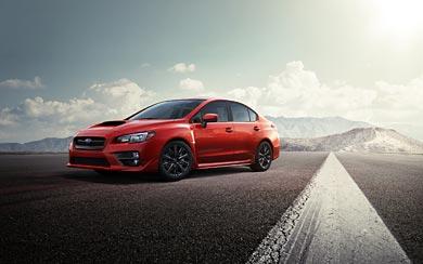 2015 Subaru WRX wallpaper thumbnail.