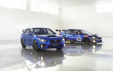 2015 Subaru WRX STI wallpaper thumbnail.