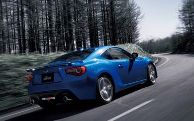 2017 Subaru BRZ wallpaper thumbnail.