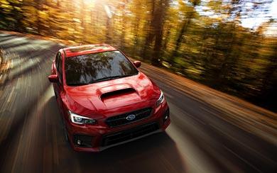 2018 Subaru WRX wallpaper thumbnail.