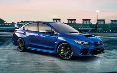 2018 Subaru WRX STI thumbnail.
