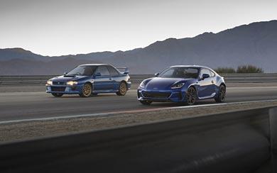 2022 Subaru BRZ wallpaper thumbnail.