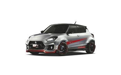 2019 Suzuki Swift Sport Katana wallpaper thumbnail.