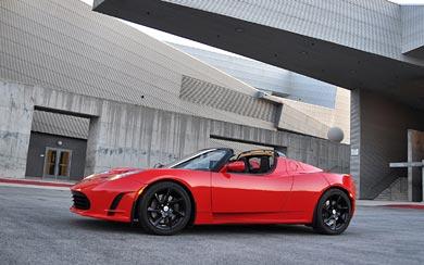 2011 Tesla Roadster 2.5 wallpaper thumbnail.