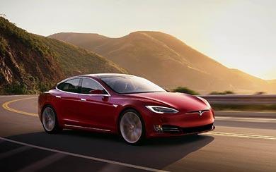 2017 Tesla Model S P100D thumbnail.