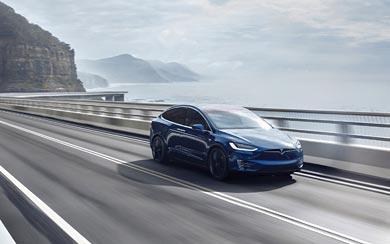 2017 Tesla Model X wallpaper thumbnail.