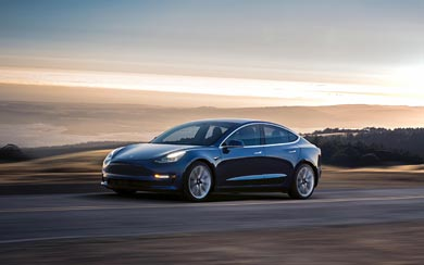 2018 Tesla Model 3 wallpaper thumbnail.