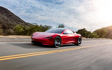 2020 Tesla Roadster wallpaper thumbnail.