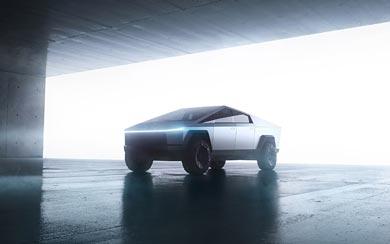 2022 Tesla Cybertruck wallpaper thumbnail.
