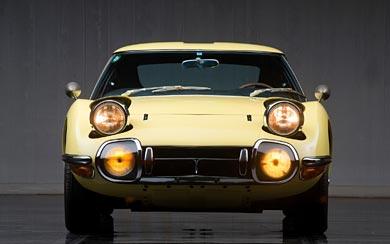1967 Toyota 2000GT wallpaper thumbnail.