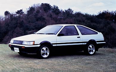 1983 Toyota Corolla Levin wallpaper thumbnail.
