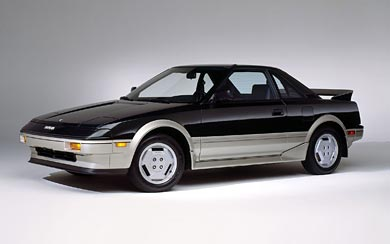 1985 Toyota MR2 wallpaper thumbnail.