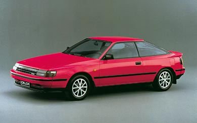 1986 Toyota Celica wallpaper thumbnail.