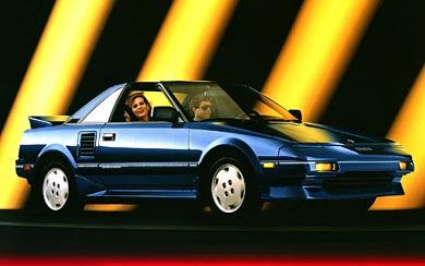 1988 Toyota MR2 SC wallpaper thumbnail.