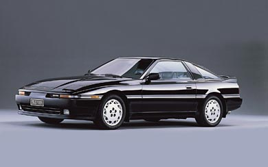 1989 Toyota Supra Turbo wallpaper thumbnail.