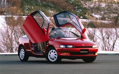 1990 Toyota Sera wallpaper thumbnail.