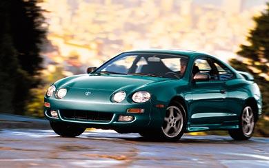 1996 Toyota Celica GT wallpaper thumbnail.