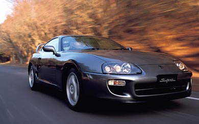 1997 Toyota Supra wallpaper thumbnail.