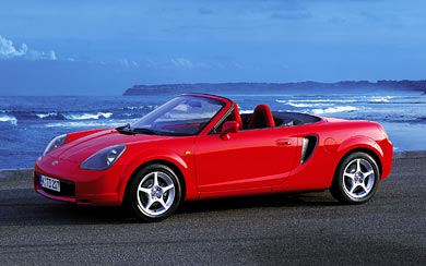 1999 Toyota MR2 Roadster wallpaper thumbnail.