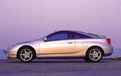 2000 Toyota Celica wallpaper thumbnail.