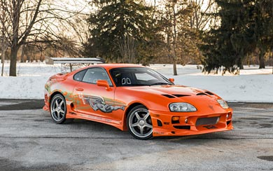 2001 Toyota Supra 'The Fast and the Furious' wallpaper thumbnail.