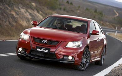 2007 Toyota TRD Aurion wallpaper thumbnail.