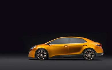 2013 Toyota Corolla Furia Concept wallpaper thumbnail.