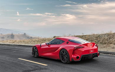 2014 Toyota FT-1 Concept wallpaper thumbnail.