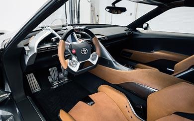 2014 Toyota FT-1 Graphite Concept wallpaper thumbnail.