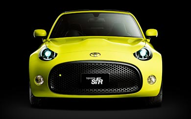 2015 Toyota S-FR Concept wallpaper thumbnail.
