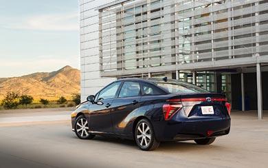 2016 Toyota Mirai wallpaper thumbnail.