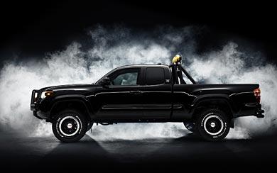2016 Toyota Tacoma 'Back to the Future' Concept wallpaper thumbnail.