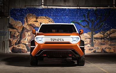 2017 Toyota FT-4X Concept wallpaper thumbnail.