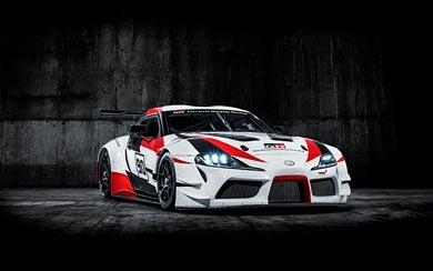 2018 Toyota GR Supra Racing Concept wallpaper thumbnail.
