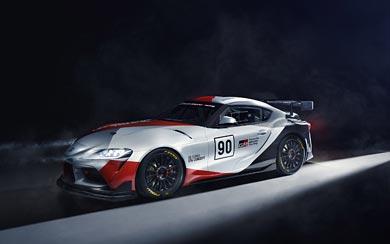 2019 Toyota Supra GT4 Concept wallpaper thumbnail.
