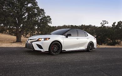 2020 Toyota Camry TRD wallpaper thumbnail.