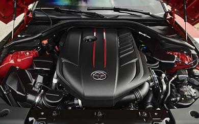2020 Toyota Supra wallpaper thumbnail.