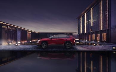 2021 Toyota RAV4 Prime XSE wallpaper thumbnail.