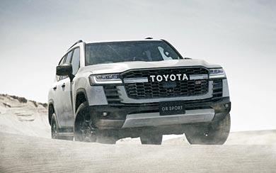 2022 Toyota Land Cruiser GR Sport wallpaper thumbnail.