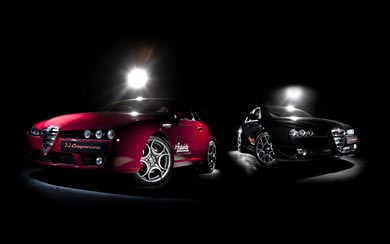 2009 Autodelta Alfa Romeo Brera S wallpaper thumbnail.