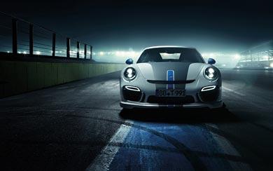 2014 TechArt Porsche 911 Turbo wallpaper thumbnail.