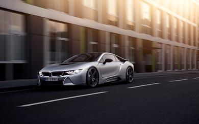 2015 AC Schnitzer BMW i8 wallpaper thumbnail.