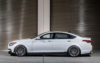 2015 ARK Performance Hyundai Genesis Sedan wallpaper thumbnail.