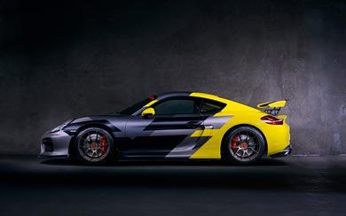 2016 Vorsteiner Porsche Cayman GT4 wallpaper thumbnail.