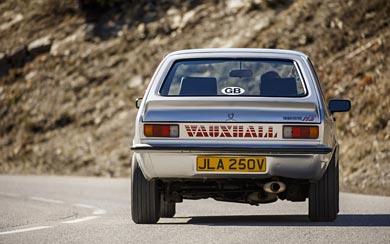 1979 Vauxhall Chevette HS wallpaper thumbnail.