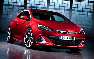 2012 Vauxhall Astra VXR wallpaper thumbnail.
