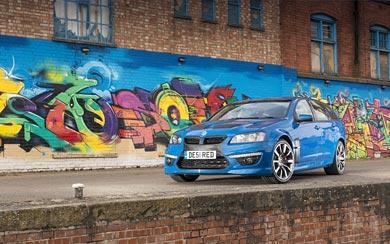 2013 Vauxhall VXR8 Tourer wallpaper thumbnail.