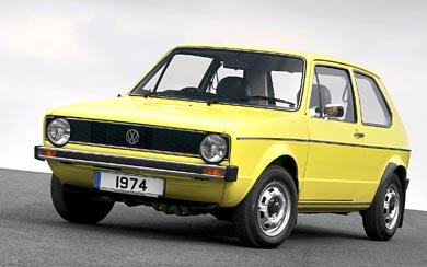 1974 Volkswagen Golf wallpaper thumbnail.
