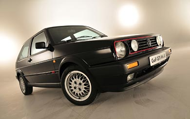 1989 Volkswagen Golf GTI wallpaper thumbnail.